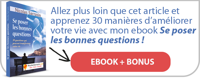 "Ebook pdf du livre ""Se poser les bonnes questions"" de Nicolas Sarrasin avec un bonus"