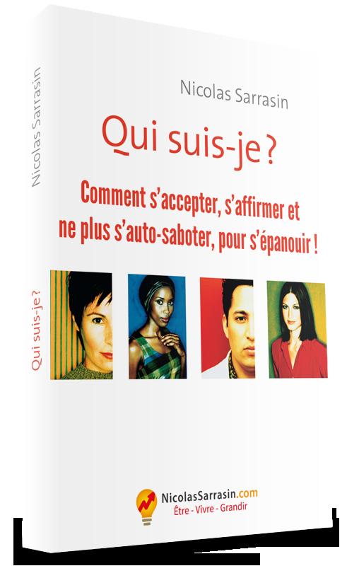 Couverture du livre Qui suis-je ? Retrouver son identité perdue, de Nicolas Sarrasin
