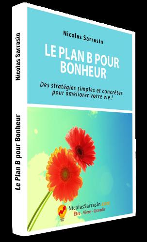 Ebook de développement personnel et de psychologie de l'auteur Nicolas Sarrasin