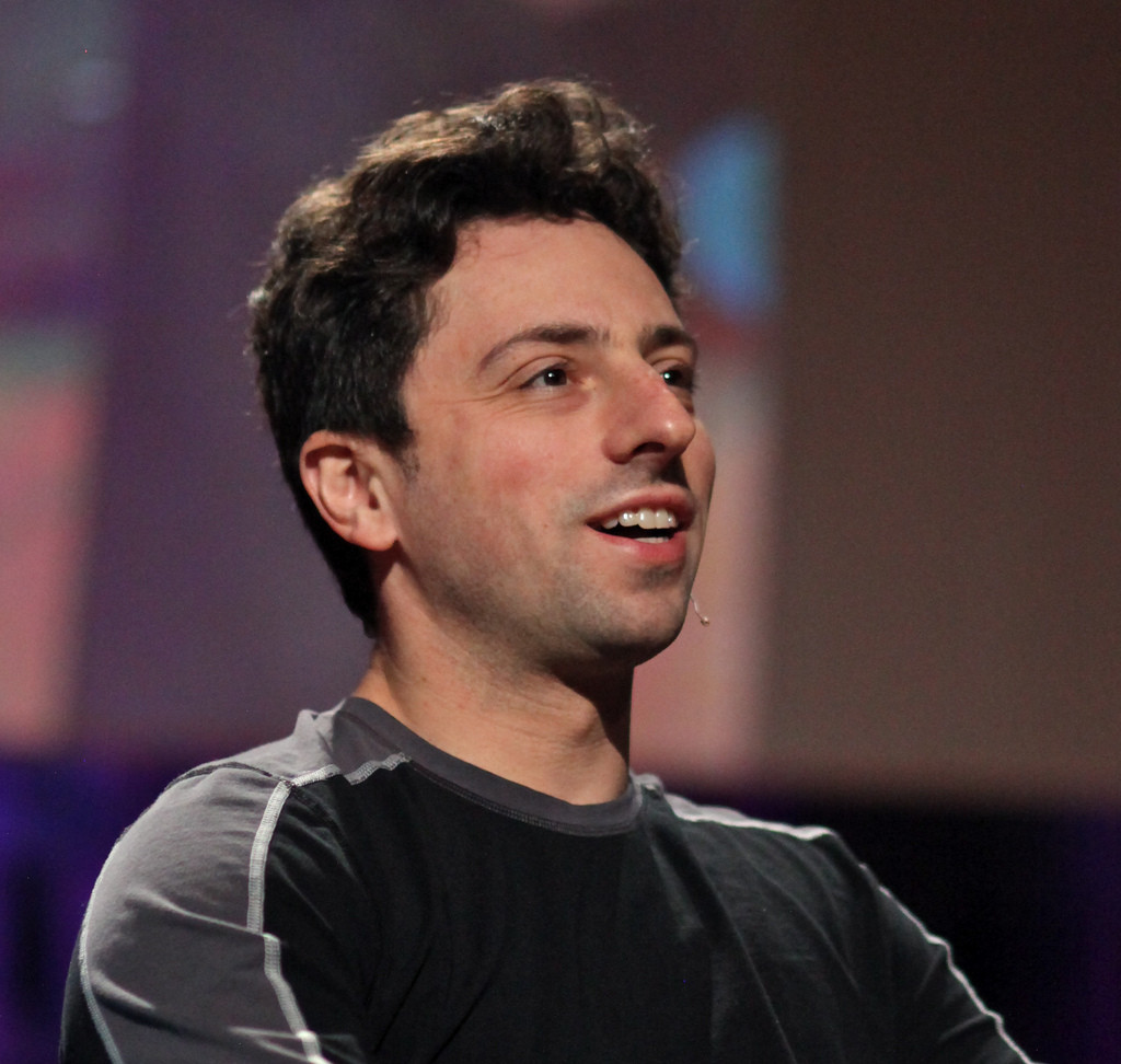 Sergey Brin co-fondateur de Google