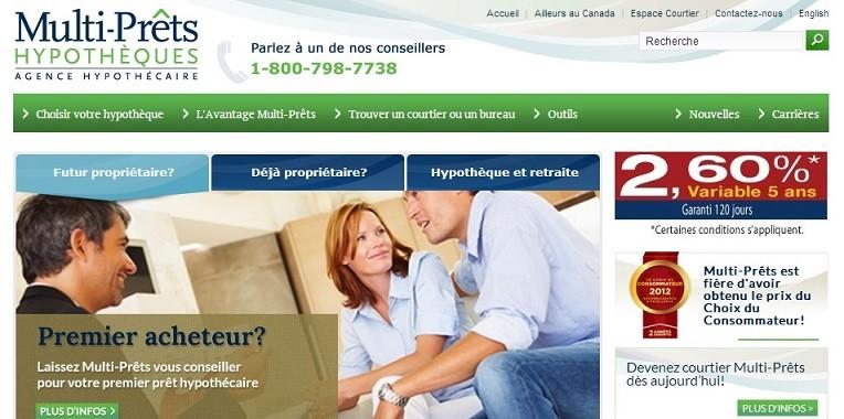 Multi-prêts: courtiers en hypothèques