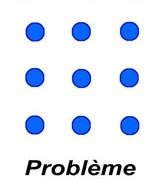 Problème des 9 points en psychologie cognitive - NicolasSarrasin.com