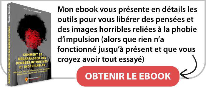 Ebook pour vous libérer de la phobie d'impulsion