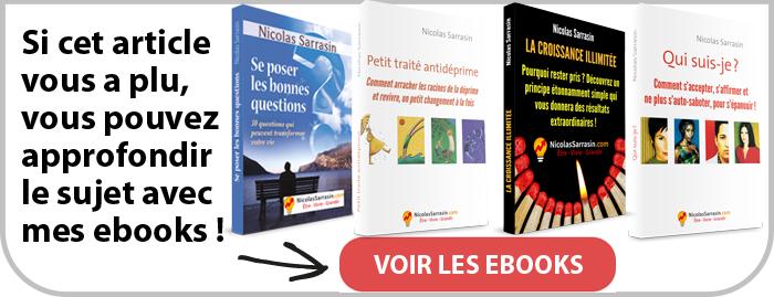 Livres électroniques complets de psychologie et de développement personnel par Nicolas Sarrasin