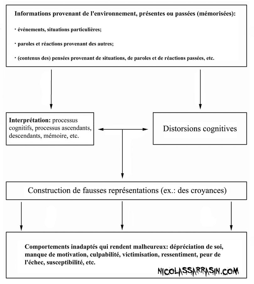 Processus de formation des distorsions cognitives - nicolassarrasin.com