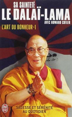 """Livre """"L'art du bonheur"""" du Dalaï-lama"""