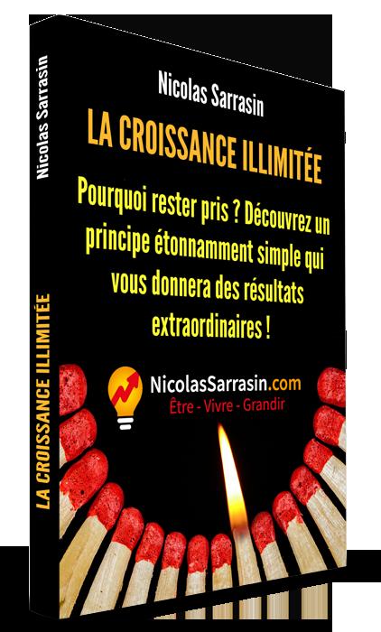La croissance (personnelle) illimitée, livre de Nicolas Sarrasin