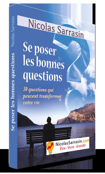 "Ebook ""Se poser les bonnes questions"" de Nicolas Sarrasin"