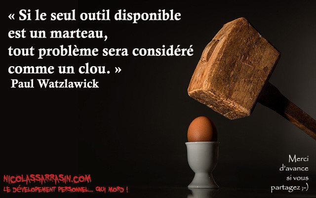 Citation de Paul Watzlawick - NicolasSarrasin.com